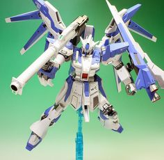 HGBF 1/144 Hi-Nu Gundam Vrabe  GG INFINITE: ORDER HERE Modeled by zgmfxg