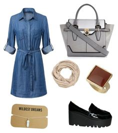 """""""Untitled #6"""" by hanan-edrees on Polyvore featuring Qupid, River Island, maurices and Dorothy Perkins"""