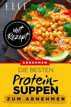 The best protein soups for losing weight - Diet Doctors Nutrition Education, Nutrition Program, Best Protein, Eating Habits, Healthy Eating, Healthy Recipes, Meals, Ethnic Recipes, Food