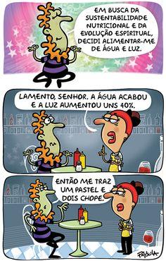 Hoje em dia, é cara até a economia.   *Para ver todas as tirinhas da Folha de SP, acesse http://www1.folha.uol.com.br/ilustrada/cartum/cartunsdiarios/#13/10/2014