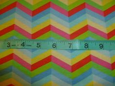 #rainbow #colorful #zigzag #sewing #cutefabric