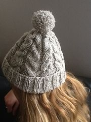 Ravelry: Squish-Squash Cable Hat pattern by Tar3820