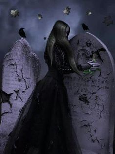 Angel After Dark. Top Gothic Fashion Tips To Keep You In Style. Consistently using good gothic fashion sense can help Vampire Pictures, Gothic Pictures, Gothic Images, Random Pictures, Dark Gothic Art, Gothic Fantasy Art, Fantasy Kunst, Gothic Horror, Dark Beauty