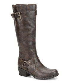 Another great find on #zulily! Dark Brown Mahers Boot #zulilyfinds