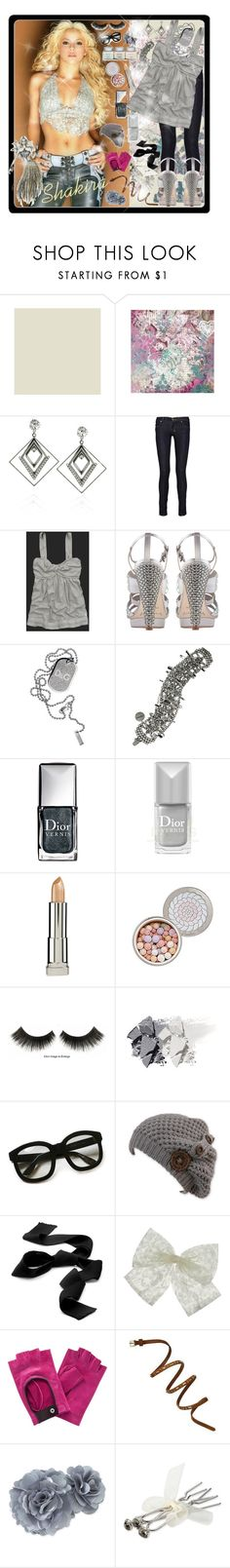 """""""Shakira"""" by andrej4e-xoxo ❤ liked on Polyvore featuring Maybelline, DANNIJO, Ksubi, Abercrombie & Fitch, D&G, Tom Binns, Christian Dior, Guerlain, Emmanuelle Khanh and Hermès"""