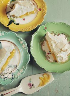 Citronmarängpaj / Fluffy lemon pie ~ Le Parfait / Photography - Ulrika Ekblom, Syiling - Liselotte Forslin