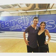 ".@Allisonholker on instagram: ""And so it begins .. DWTS SEASON 21 @dancingabc #dwts @andygrammer"""