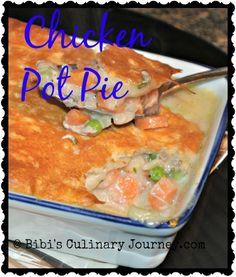 Chicken Pot Pie @ Bibi's Culinary Journey  #chicken #chickenpotpie #pillsburybiscuits