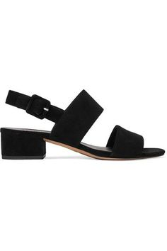 5978e9fd053e Heel measures approximately 44mm  1.7 inches Black suede Buckle-fastening  slingback strap ImportedSmall to. Mid Heel SandalsSlingback ...