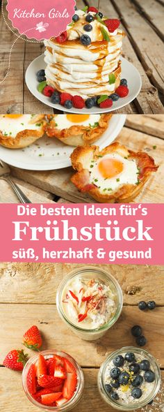 The 12 Best Breakfast Recipe Recipes of the Kitchen Girls- Die 12 besten Frühstücksrezepte-Rezepte der Kitchen Girls The 12 Best Breakfast Recipe Recipes of the Kitchen Girls - Breakfast Desayunos, Best Breakfast Recipes, Brunch Recipes, Birthday Breakfast, Breakfast Ideas, Brunch Party, Food Goals, Eat Smart, Food Inspiration