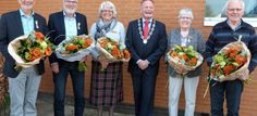 Vijf Koninklijke onderscheidingen tijdens lintjesregen in Dantumadiel | HarpoenMedia.nl