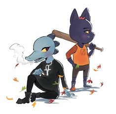 Mae and Bea NITW by Beezii11 on DeviantArt