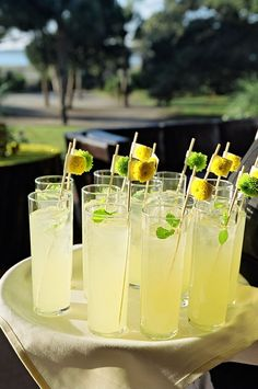 Best lemonade recipes if you are having a lemonade stand at your wedding