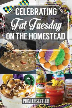 Carnival party ideas for carnival Homesteading Tips, Celebrate Fat Tuesday at t . Carnival party ideas for carnival Homesteading Tips, Celebrate Fat Tuesday at the Homestead 23 festive ideas Mardi Gras Outfits, Mardi Gras Costumes, Mardi Gras Food, Mardi Gras Party, Louisiana Recipes, Cajun Recipes, Mardi Gras Decorations, Holiday Recipes, Food And Drink