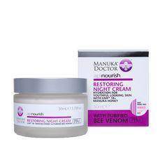Restoring Night Cream - Manuka Doctor - 50ml | Shop New Zealand