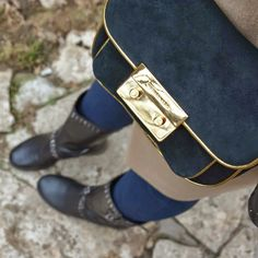 Michael Kors bag and Ferre boots with studdes
