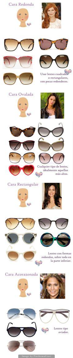[Y ahora cómo] Escojo lentes de sol para mi tipo de rostro - src:   http://yahoraquehare.blogspot.com.ar/2011/12/y-ahora-como-escojo-lentes-de-sol-para.html  - created via http://pinthemall.net