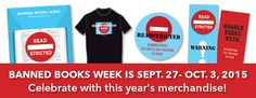 Banned Books Week is September 27 – October 3, 2015. Celebrate with this year
