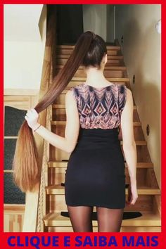 Hair Ponytail Styles, Curly Hair Styles, Hair Movie, Hair Specialist, Simple Ponytails, Long Dark Hair, Long Hair Video, Super Long Hair, Scene Hair