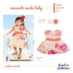 Moda Bebê | Moda Baby | Vestido | Look Para a Princesa