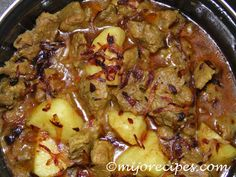 Spicy Beef Curry, Bengali Beef Curry recipe | MijoRecipes