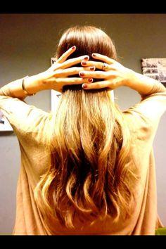 Stunning hair!