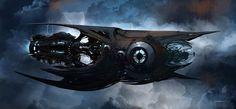 BURDA - Concept nave - (photoshop)