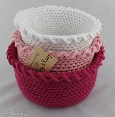 Zestaw Koszy Mix Pink. $81
