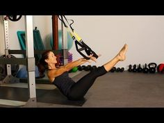 TRX Pilates Inspired Core Workout - for Rock Hard Abs - YouTube