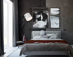 """Check out new work on my @Behance portfolio: """"House in Moscow bedroom"""" http://be.net/gallery/36433289/House-in-Moscow-bedroom"""