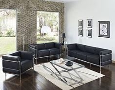 LexMod modern living room
