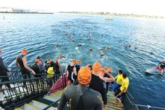 Swim, bike, run, and (duh) rock the 5th Annual TriRock, the largest triathlon series in the city.