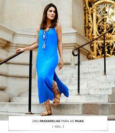 Das Passarelas Para as Ruas- Blue Dress camila coelho azul_01
