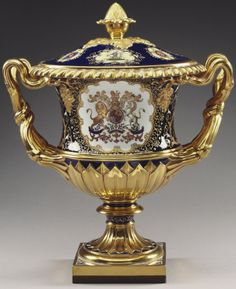 In the Royal Collection   1830s  Ice pail, cover and liner   part of the Coronation Service