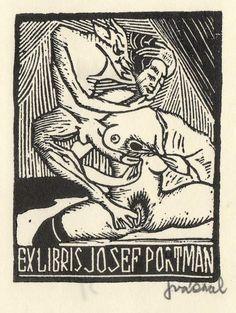 Ex Libris...Josef Váchal... erotica