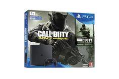 génial Console Sony PS4 1 To Slim Noir + Call of Duty Infinite Warfare + Modern Warfare en téléchargement chez FNAC