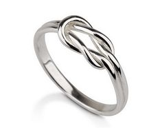 Infinity Ring 925 Sterling Silver Infinity ring by MyPersonalized, $21.99