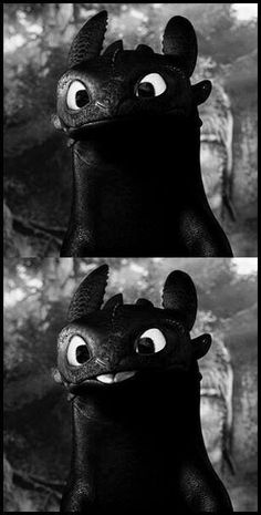 How To Train Your Dragon - I seriously adore this dragon!  Can't wait for the second one to come out.  :)