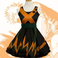 Cosplay Anime Costume Lord Explosion Murder Printed Cosplay Dress - Custom cosplay alternatives for the cute enthusiast Cosplay Dress, Cosplay Outfits, Anime Outfits, Mode Outfits, Fashion Outfits, Anime Cosplay, Kawaii Cosplay, My Hero Academia Merchandise, Anime Merchandise