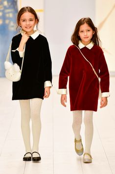 3 Easygoing (Yet Polished) Outfits for the Thanksgiving Cook Girly Girl Outfits, Cute Little Girl Dresses, Cute Little Girls, Girls Dresses, Kids Winter Fashion, Kids Fashion, Fashion Forecasting, Little Girl Fashion, Madame