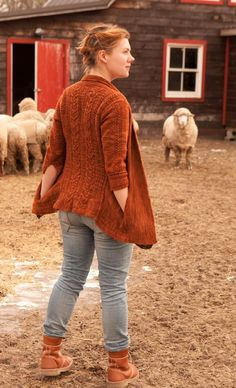Editor's Choice: Pumpkin Ale cardigan by Ysolda Teage: download at LoveKnitting!