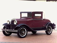 Plymouth Model Q Coupe '1928–29