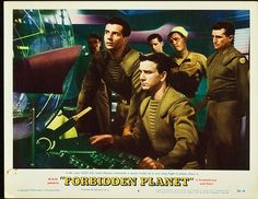 Forbidden Planet Robby the Robot 1956 Science Fiction Cult Movie Anne Francis Photos Great Sci Fi Movies, Classic Sci Fi Movies, Turner Classic Movies, Cult Movies, Fiction Movies, Sf Movies, Planet Movie, Robby The Robot, Anne Francis