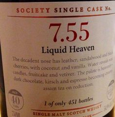 Longmorn 40yo 54.9% (451 bottles)
