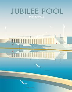 Jubilee Pool, Cornwall Wholesale Prints Find any Poster, Art Print, Framed Art or Original Art at Great Prices. Falmouth Cornwall, Open Signs, Cornwall England, Gcse Art, All Poster, Travel Posters, Framed Art, Fine Art Prints, Illustration