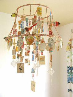 DIY Un Chandelier en papier