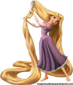 Dibujos de Rapunzel para imprimir , Rapunzel la princesa disney y su nueva imagen para imprimir en imagenesydibujosparaimprimir.com. Puedes...