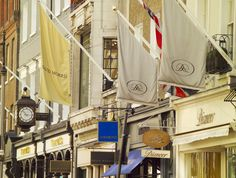 Luxury shopping on the renowned Bond Street