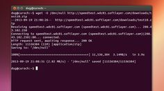 How to Test Your Internet Speed with a Terminal Command (Linux; Windows and Mac require a download)