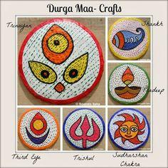 Day 6   Durga Maa Crafts